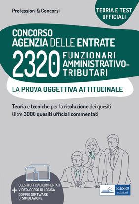 Immagine di CONCORSO AGENZIA DELLE ENTRATE 2320 FUNZIONARI AMMINISTRATIVO-TRIBUTARI