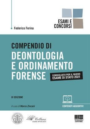 Immagine di COMPENDIO DI DEONTOLOGIA E ORDINAMENTO FORENSE