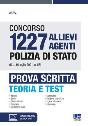 Immagine di CONCORSO 1227 ALLIEVI AGENTI POLIZIA DI STATO PROVA SCRITTA TEORIA E TEST