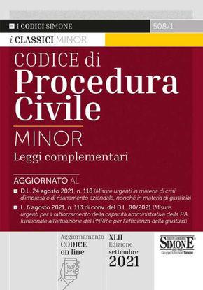 Immagine di CODICE DI PROCEDURA CIVILE - VOLUME 508/1